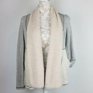 BB Dakota Sweaters - BB Dakota Sherpa Knit Open Jacket